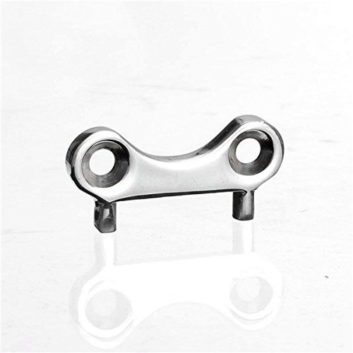 Viviance Universal Stainless Steel Boat Deck Fill Plate Key Tool Water Fuel Gas Waste Cap