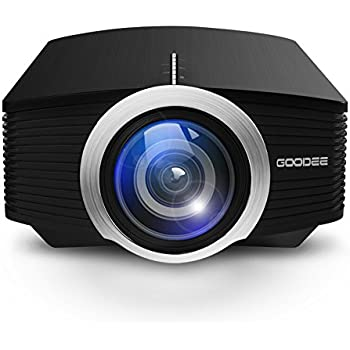 Amazon.com: Projector, Zenhon Mini Portable Video LED Projector ...