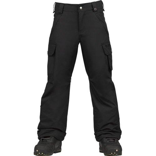 Burton Exile Cargo Pant Boy's True Black S by Burton