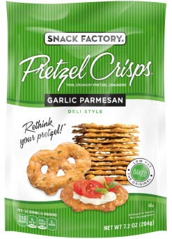 Snack Factory Deli Style Crunchy Pretzel Cracker Crisps, 8 Flavor Variety Pack, 7.2 Ounce Bags (Pack of 16) by Snack Factory (Image #7)