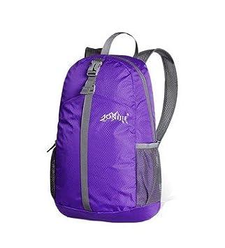 Recorrido al aire libre 20 litros plegable Unisex mochila senderismo camping mochila // - púrpura: Amazon.es: Deportes y aire libre