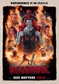 DEADPOOL TEXTLESS MOVIE POSTER FILM A4 A3 ART PRINT CINEMA MARVEL
