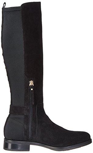 Noir black 3c Hilfiger T1285essa Bottes Tommy Femme qXC18ww