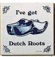 Essence of Europe Gifts E.H.G Dutch Culture Magnet Tile (Dutch Roots)