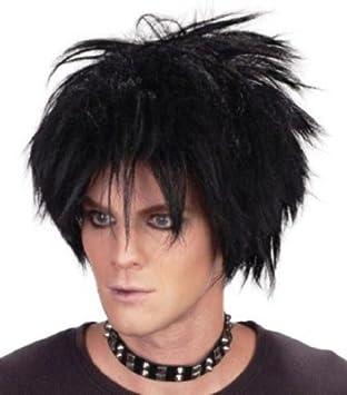 Amazon.com: Rock Star la cura disfraz peluca Inc peluca ...
