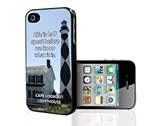 Cape Lookout Lighthouse iPhone 4/4s case