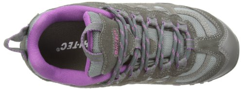 senderismo Co Botas WP Windermere Gris mujer Low de cuero Hi Purple Charcoal Tec de W B4qf8