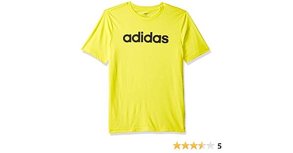 boys adidas t-shirt Essentials logo performance tee top girls