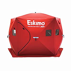 Eskimo Quickfish 24105 Quickfish 5I Pop-Up Portable Ice Shelter, 4 Person