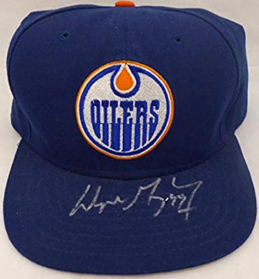 ca517254392 Wayne Gretzky Autographed Edmonton Oilers Hat  BAE74754 - Upper Deck  Certified - Autographed NHL Hats