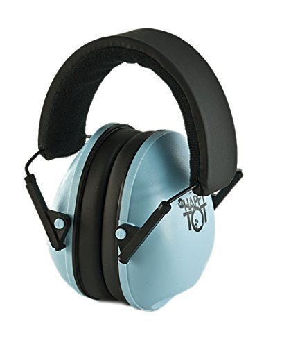 My Happy Tot Hearing Protection Headphones. Noise Canceling for Children & Infants, Fully Adjustable for 0-12 Yrs. Low Profile Cups, Padded 'Snug Fit' Professional Earmuffs for Kids