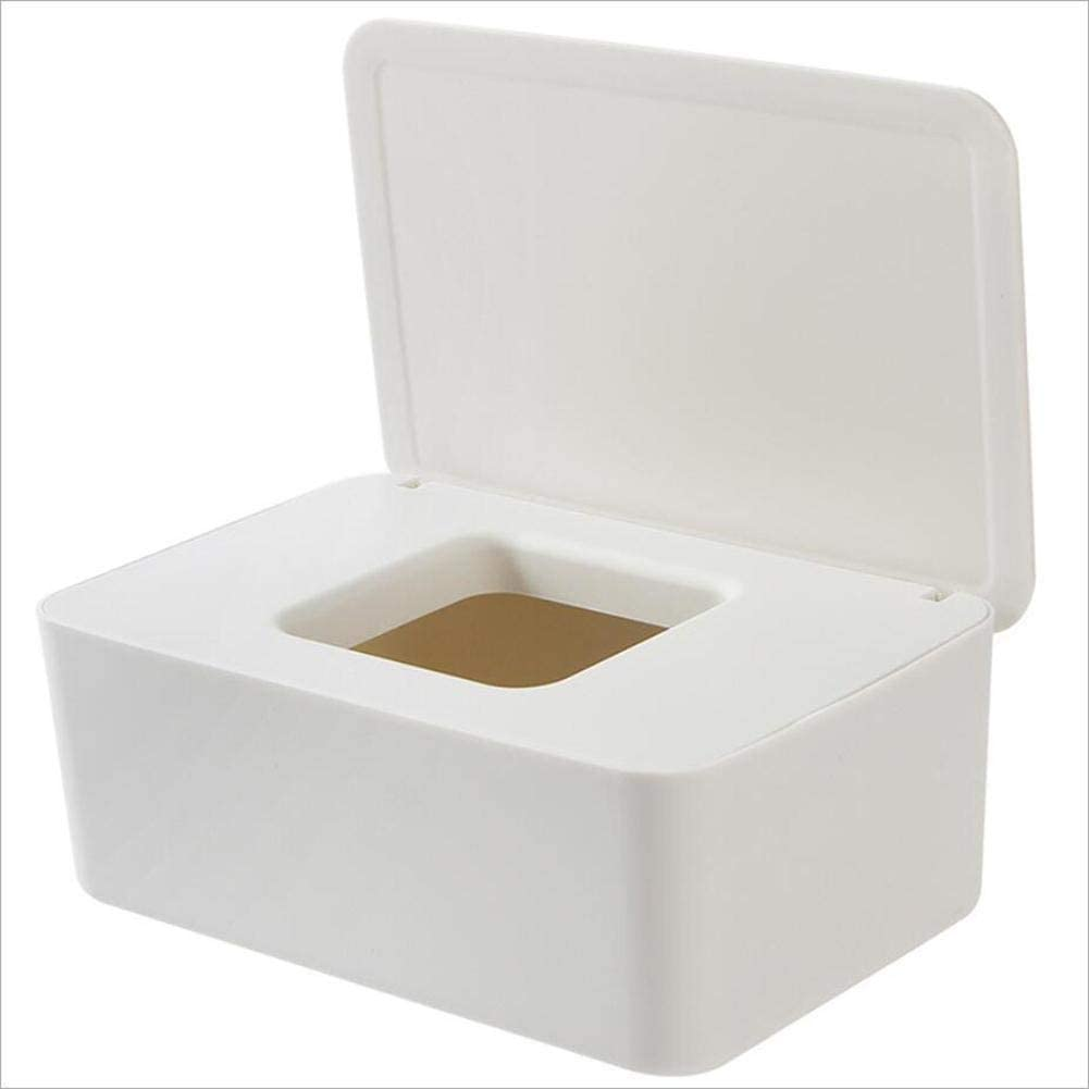 BAROZN Scatola per fazzoletti 1 Tissue Pc acrilica Quadrata Fashion Box Trasparente Holder Tissue Paper Box di stoccaggio del Tessuto di Caso for la casa Ristoranti Alberghi