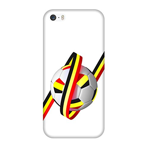 Coque Iphone 5-5s-SE - Supporter Football Belgique