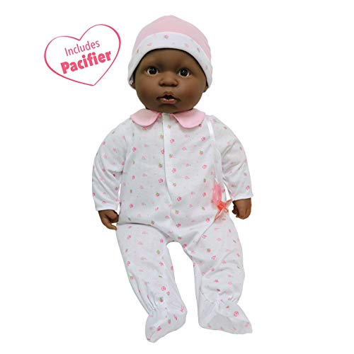 - JC Toys, African American La Baby 20-inch Soft Body Pink Play Doll - For Children 2 Years Or Older, Designed by Berenguer