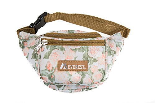 Everest Signature Pattern Waist Pack, Vintage Floral One Size ()