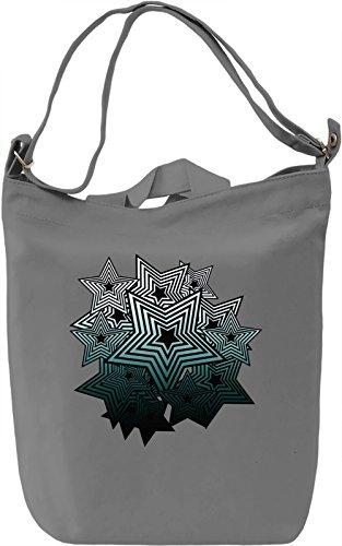 Pop Art Stars Borsa Giornaliera Canvas Canvas Day Bag| 100% Premium Cotton Canvas| DTG Printing|