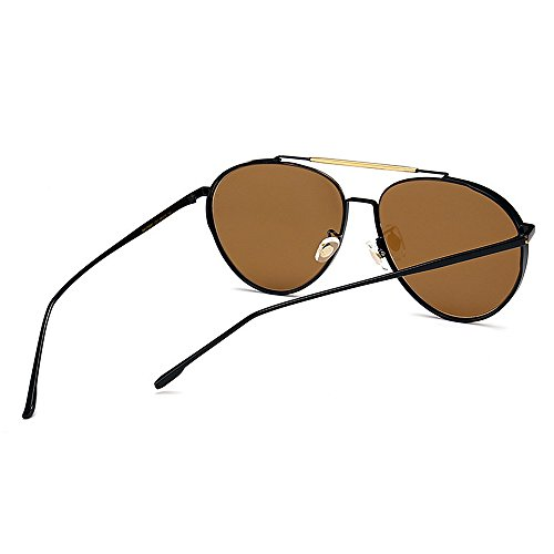 Yxsd Polarisées encadrant Conduite Couleur Brown Légère de Lumière la d'hommes Soleil de Lunettes Sport Brown de Ultra rTqFtrw