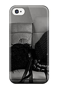 New Arrival Case Cover With QKdzfuE7847IZwMW Design For Iphone 4/4s- Miley Cyrus Music Sending Screen Protector in Free
