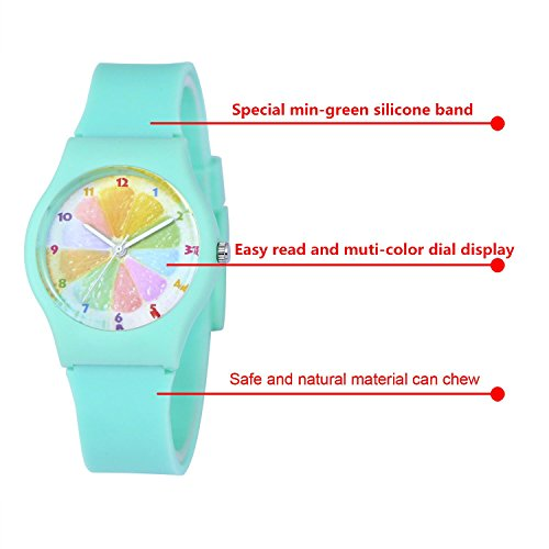 gold mint s women pin watches green confetti face geneva