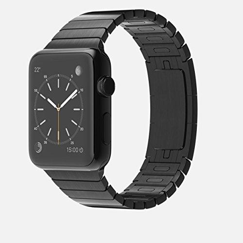 Apple Watch 42mm MJ482J/A [スペースブラック ステンレススチールリンクブレスレット]