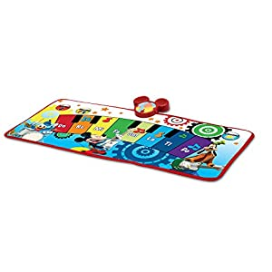 Amazon Com Mickey Mouse Club House Piano Music Mat Toys