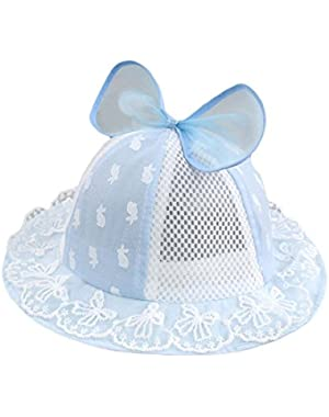 Baby Girl Boys Summer Caps Cotton Sun Hat with Ear Sun Protection