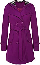 Amazon.com: Purple - Wool &amp Blends / Wool &amp Pea Coats: Clothing