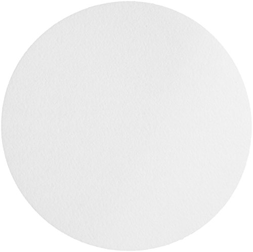 Whatman 1001-400 Quantitative Filter Paper Circles, 11 Micron, 10.5 s/100mL/sq inch Flow Rate, Grade 1, 400mm Diameter (Pack of 100) by Whatman
