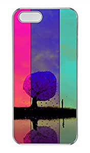 iPhone 5 5S Case Colorful Cover Skin For iPhone 5/5S Cases Transparent