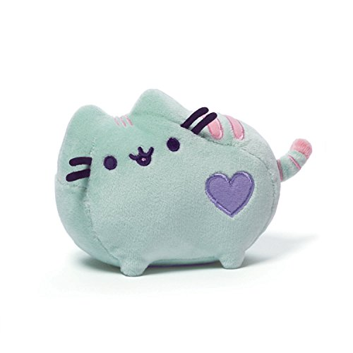 "Gund Pusheen Pastel Plush, Green, 6""/4.25"""