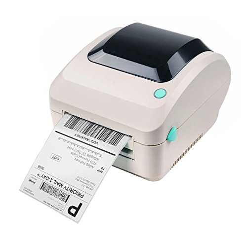Arkscan 2054A Shipping Label Printer, Support Amazon Ebay Paypal Etsy Shopify ShipStation Stamps.com UPS USPS FedEx DHL on Windows & Mac, Roll & Fanfold Thermal Label, High Speed, Dymo 4XL Compatible