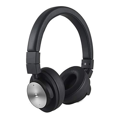 NUYI Sports Wireless Bluetooth Headset Ear Deep Bass Folding Mobile Phone Computer Headsets,White ()