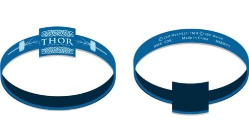 Thor: The Mighty Avenger Wristbands Party Accessory
