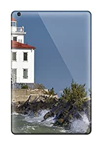 High Impact Dirt/shock Proof Case Cover For Ipad Mini/mini 2 (lighthouse)