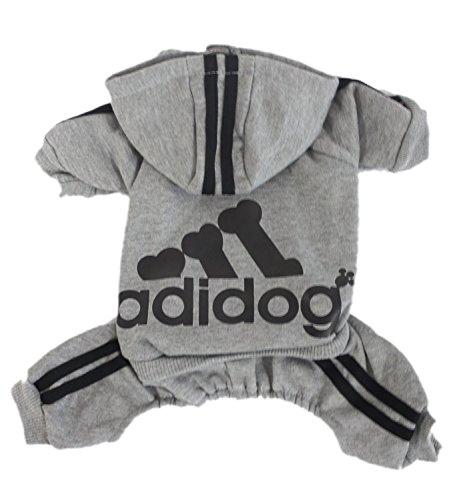 Sportswear Costume (Chicpaw Chicpaw Dogbaby Pet Clothes for Dog Cat Puppy Hoodies Coat Sportswear Jacket Sweatshirt Warm Sweater Apparel Costume (XS(Length:6.3