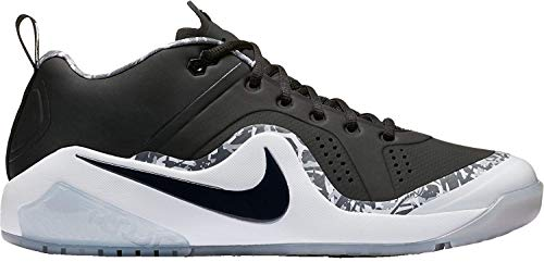 - Nike Mens Force Zoom Trout 4 Turf Baseball Trainers (Black/White, 11.5 D(M) US)