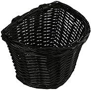 AVASTA Handlebar Bike Basket,Front Handlebar Adult Storage Basket, Waterproof with Leather Straps,Bicycle Acce