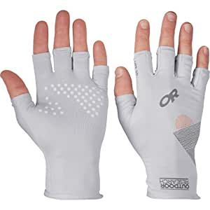 Outdoor Research Men's Spectrum Sun Gloves, Alloy, Small