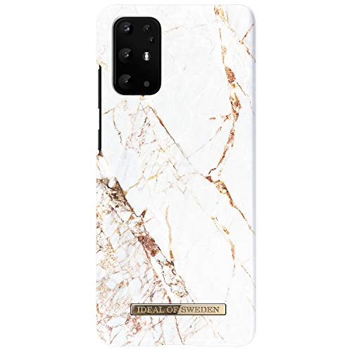 iDeal of Sweden Carcasa Trasera Protectora Funda Antideslizante TPU Compatible con Samsung Galaxy S20 Plus Carrara Gold
