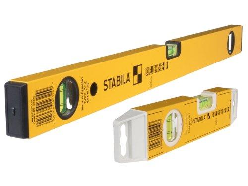 Stabila 70-2-120 Double Plumb Level 120cm + 70T Torpedo Level STB70248 18410