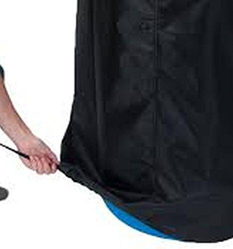 55 Gallon Barrel Bag Cover, Black,