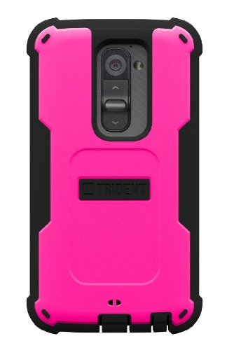 Trident Cyclops Series Case for LG Optimus G2 - Retail Packaging - Pink