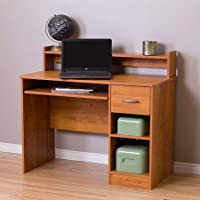 South Shore Smart Basics Small Desk Country Pine