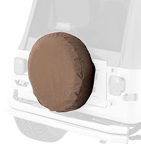 RAMPAGE PRODUCTS 773217 Universal Large Spare Tire Cover, 30-32 Inch Tire, Spice Denim