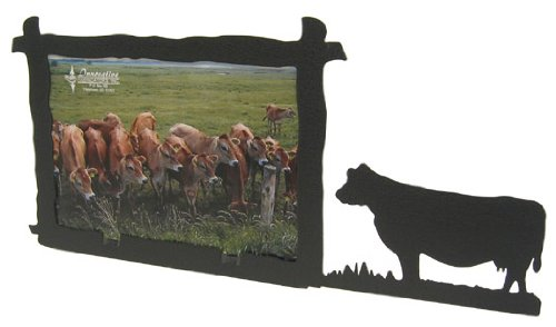 Cow 5X7 Horizontal Picture Frame (Cow Picture Frame)