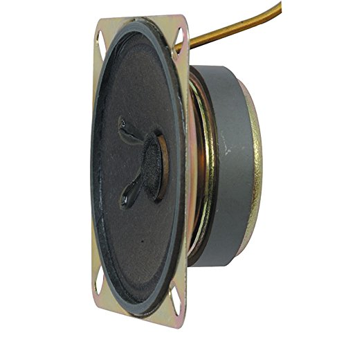 Jameco Valuepro GSP01-R Single Pole Ferrite Speaker, 85dB, Large Magnet, 2.6