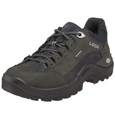 Lowa Women's Renegade ll GTX LO Hiking Shoe,Dark Grey/Navy,5.5 M US