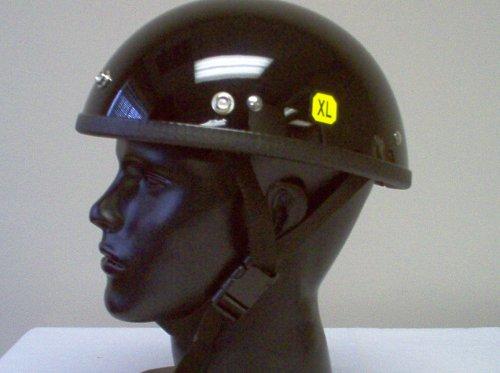 Eagle Gloss Black Novelty Biker Helmet X-large Motorcycle