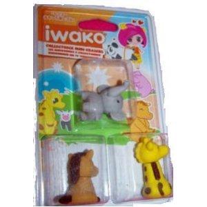 Iwako Collectable Mini Erasers - Random supplied by Iwako