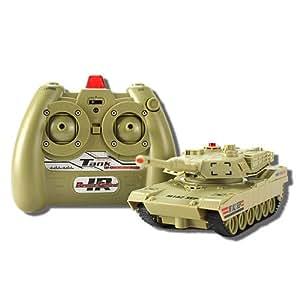 JXD 801/802 1:48 infrarrojos controlado tanque con sistema de batalla
